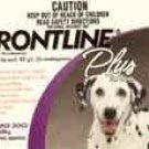 Frontline Plus Dog     3 pk.      45 - 88 lbs.