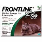 Frontline Plus Cats    3 pk