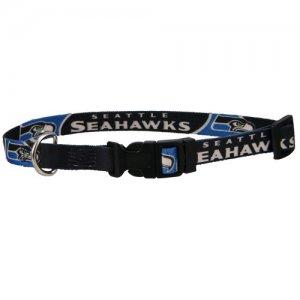 Seattle Seahawks Dog Collar  Large