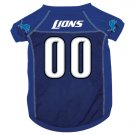 Detroit Lions Dog - Cat - Pet Jersey