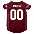 San Francisco 49ers Dog - Cat - Pet Jersey