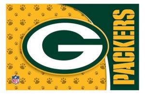 Green Bay Packers Pet Mat