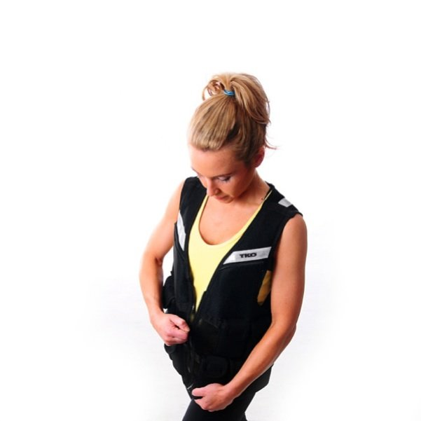 TKO 10 lb. Adjustable Weighted Strength Training Vest