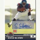 Steve Slaton 2008 Stadium Club Certified Autograph Rookie #121 Houston Texans/Miami Dolphins