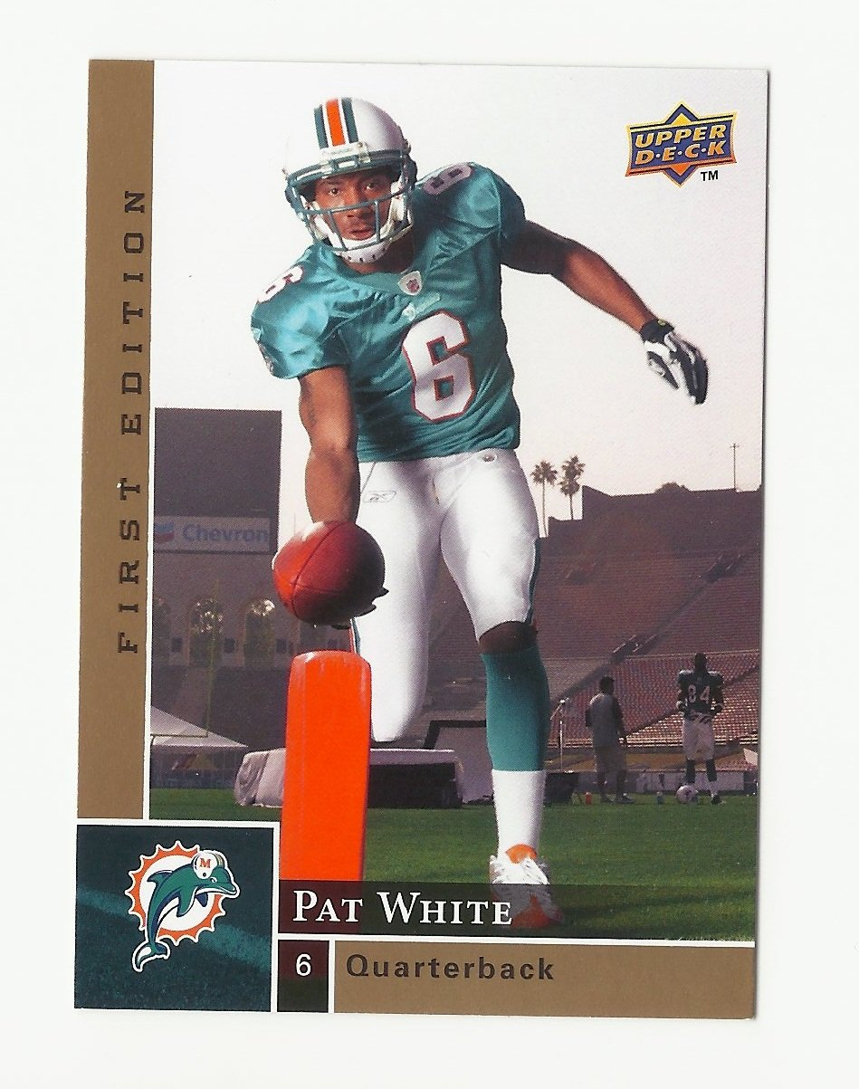 Pat White 2009 Upper Deck First Edition Rookie #178 Miami Dolphins/Washington Redskins
