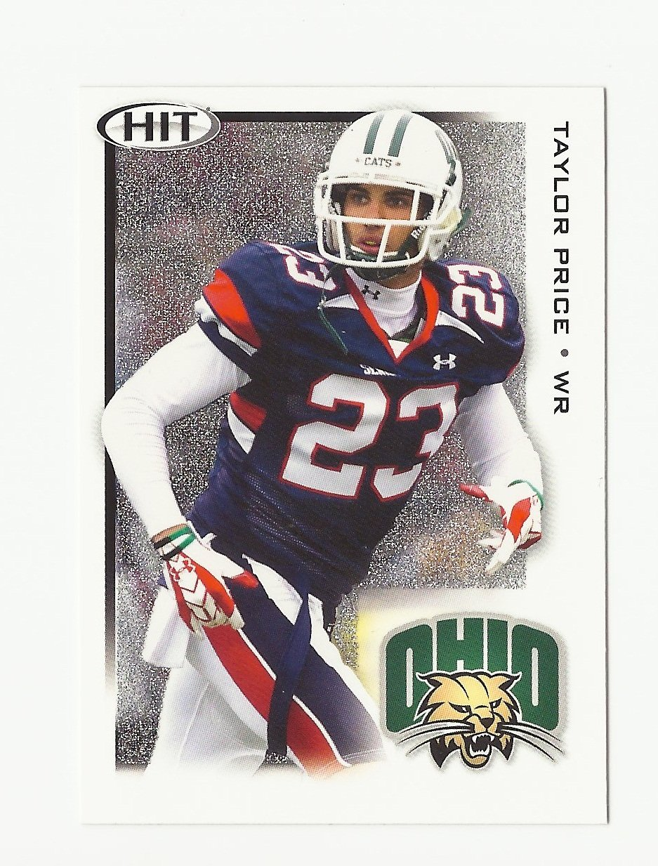 Taylor Price 2010 Sage Hit SILVER Rookie Card #87 New England Patriots