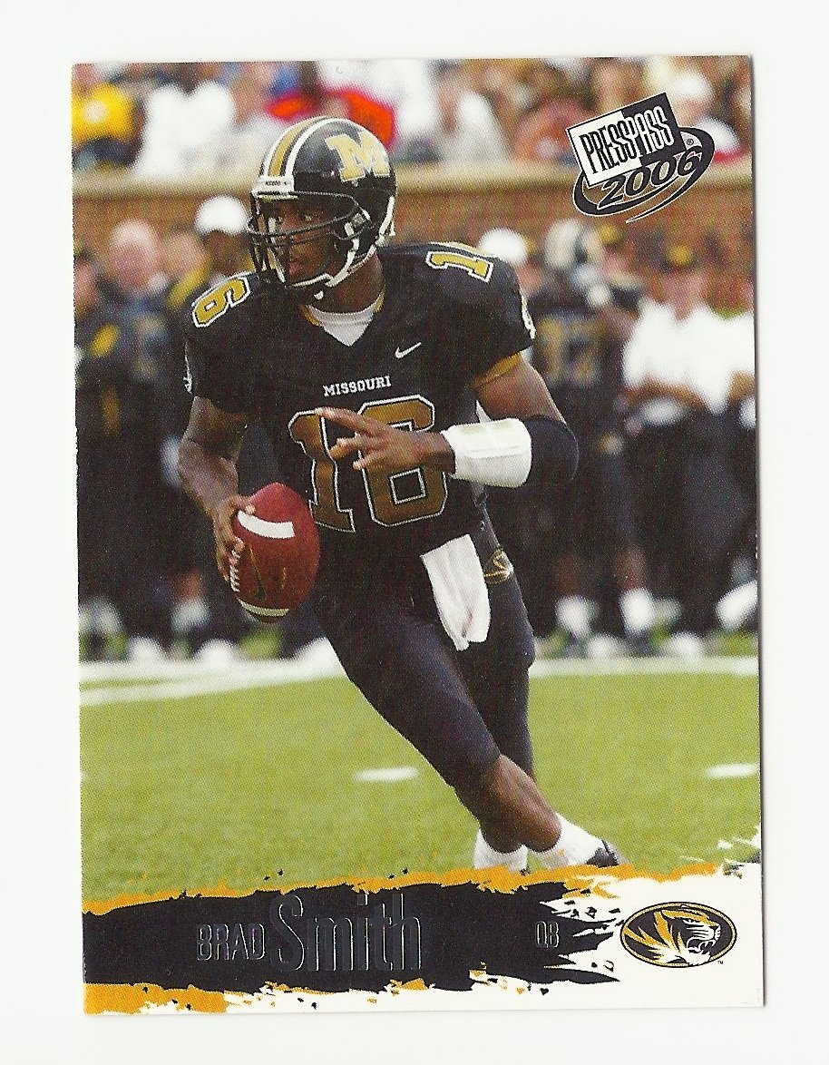 Brad Smith 2006 Press Pass Rookie Card #8 New York Jets/Buffalo Bills