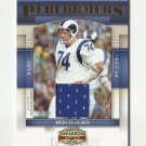 Merlin Olsen 2007 Donruss Gridiron Gear Performers Serial Numbered JERSEY Card #P-27 St. Louis Rams