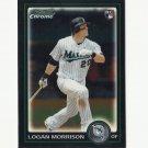 Logan Morrison 2010 Bowman Chrome Rookie Card #BDP64 Miami Marlins