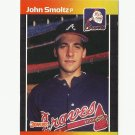 John Smoltz 1989 Donruss Rookie Card #642 Atlanta Braves