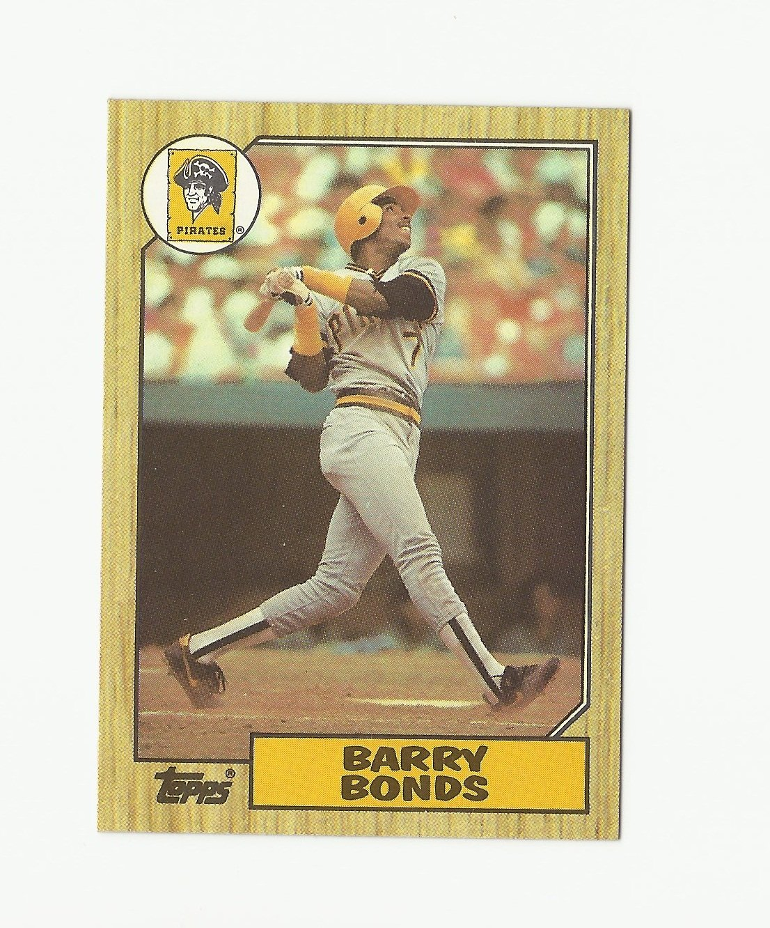 Barry Bonds 1987 Topps Rookie Card #320 Pittsburgh Pirates