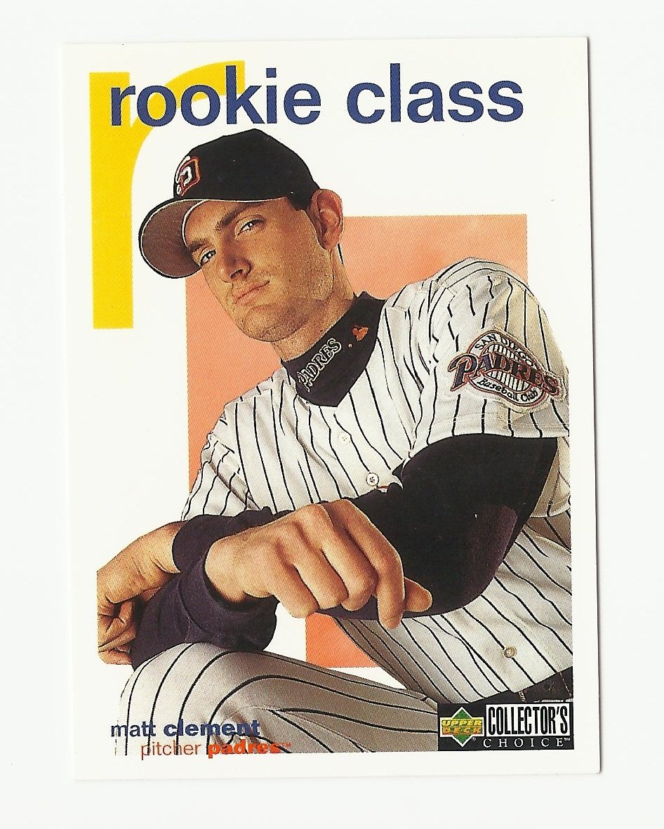 Matt Clement 1998 Collector's Choice Rookie Card #429 San Diego Padres