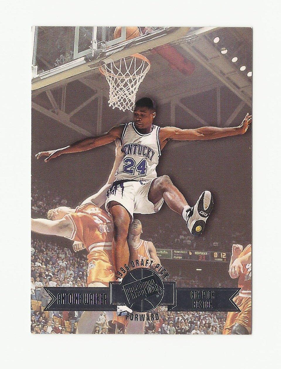 Antoine Walker 1996-97 Press Pass Draft Pick Rookie Card #6 Boston Celtics