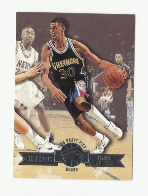 Kerry Kittles 1996 Press Pass Draft Pick Rookie Card #8 New Jersey Nets