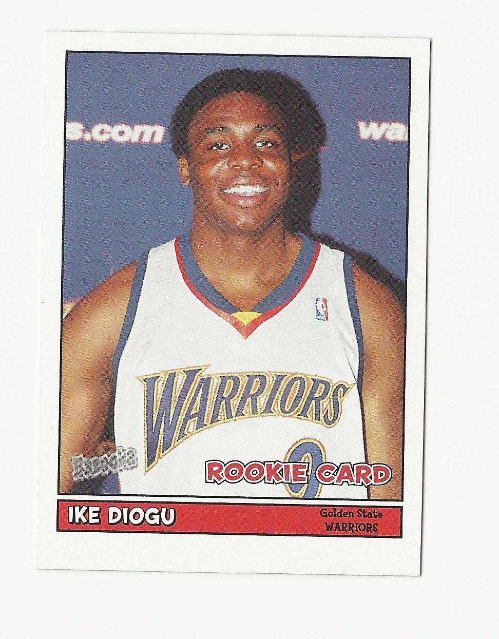 Ike Diogu 2005-06 Bazooka Rookie Card #187 Golden State Warriors