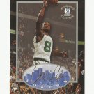 Antoine Walker 1996-97 Boston Strong Box Rookie Card #41 Boston Celtics