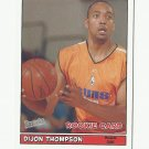 Dijon Thompson 2005 Bazooka Rookie Card #212 Phoenix Suns