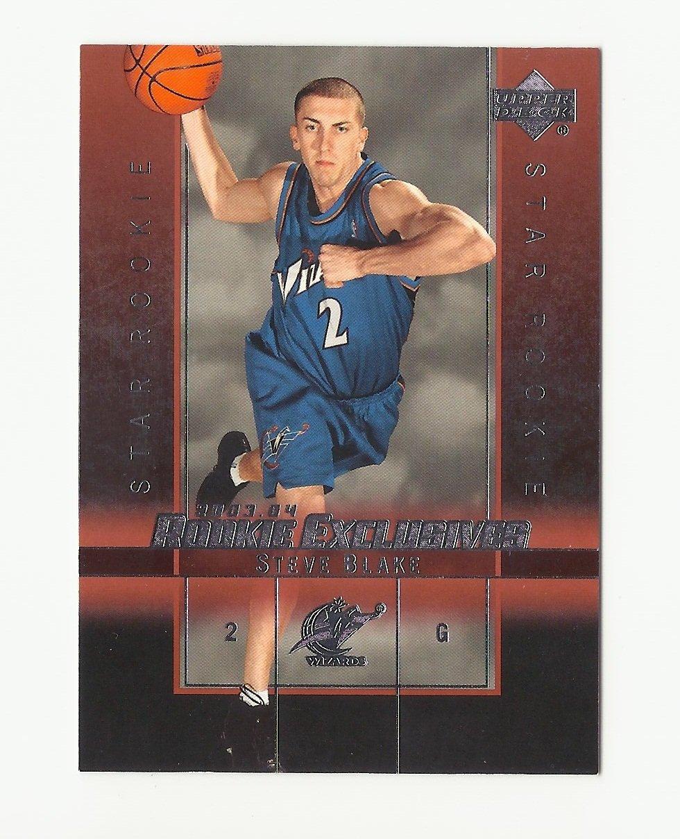 Steve Blake 2004 Upper Deck Rookie Exclusives Rookie Card #29 Washington Wizards/Los Angeles Lakers
