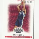 Pau Gasol 2008 Topps Triple Threads (159/333) Memphis Grizzlies
