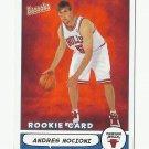 Andres Nocioni 2005 Bazooka Rookie Card #185 Chicago Bulls/Philadelphia 76ers
