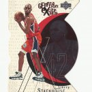 Jerry Stackhouse 1996 Upper Deck Generation Excitement Insert Card #G13 Philadelphia 76ers