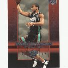 Dahntay Jones 2004 Upper Deck Rookie Exclusives Rookie Card #16 Memphis Grizzlies/Indiana Pacers