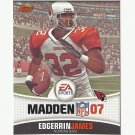 Edgerrin James 2006 Topps Madden 07 Card #6 Arizona Cardinals