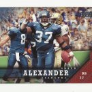 Shaun Alexander 2005 Upper Deck Single Card #164 Seattle Seahawks