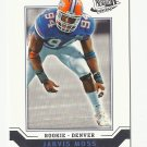 Jarvis Moss 2007 Press Pass SE Rookie Card #46 Denver Broncos