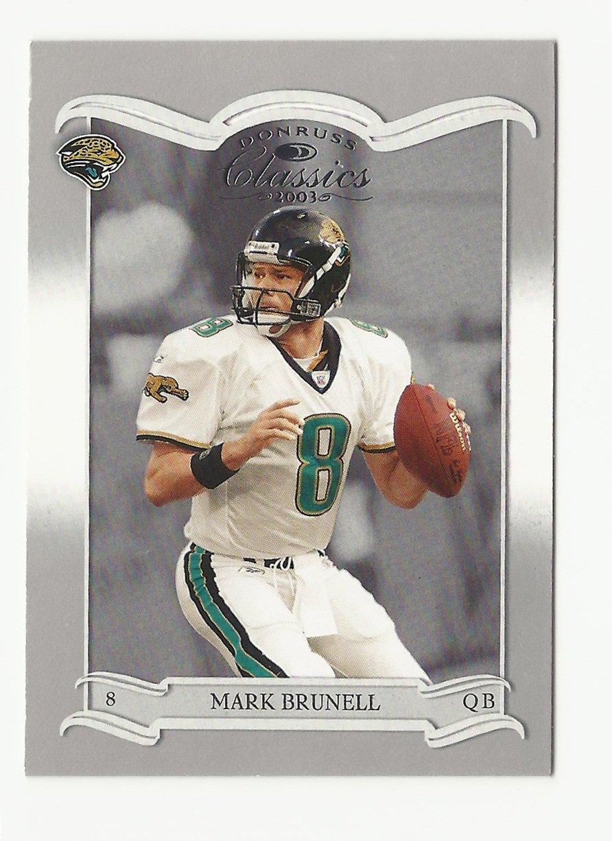 Mark Brunell 2003 Donruss Classics Card #45 Jacksonville Jaguars