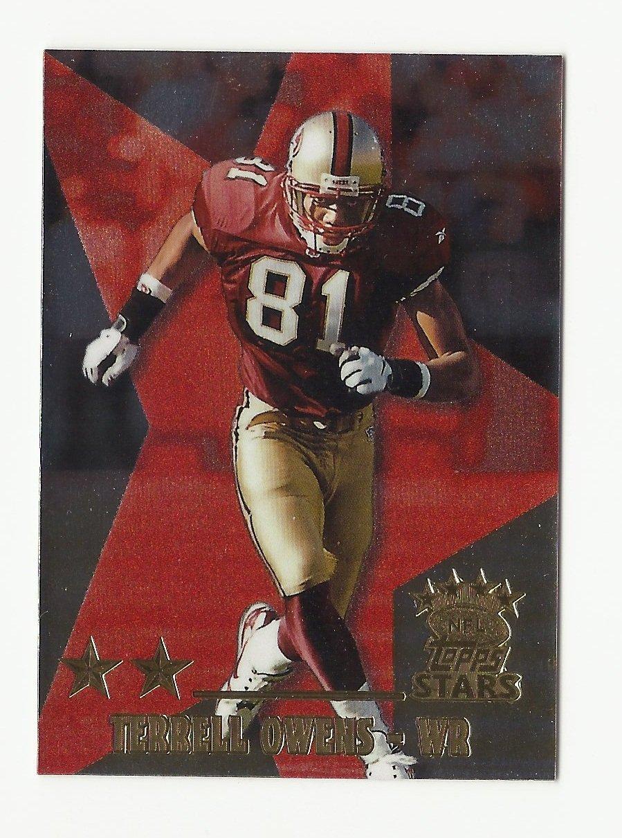 Terrell Owens 1999 Topps Stars 2 Star Card #17 San Francisco 49ers