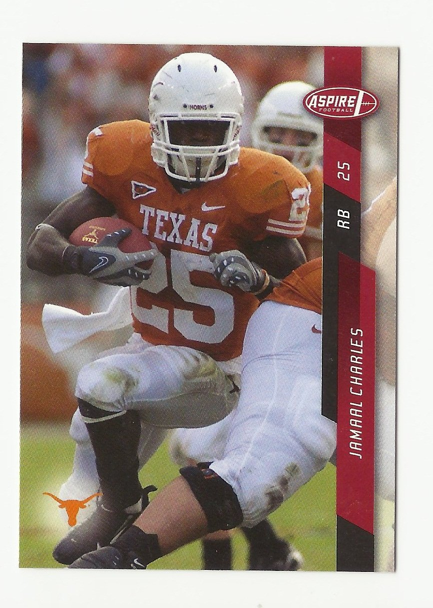 Jamaal Charles 2008 Sage Aspire Rookie Card #12 Kansas City Chiefs