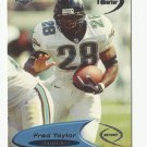 Fred Taylor 1998 Collector's Edge Odyssey 1st Quarter Rookie Card #65 Jacksonville Jaguars