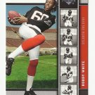 Roddy White 2005 Upper Deck Rookie Premiere Rookie Card #7 Atlanta Falcons
