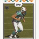 Jake Long 2008 Topps Rookie Card #387 Miami Dolphins/St. Louis Rams