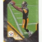 Limas Sweed 2008 Upper Deck Rookie Premiere Rookie Card #21 Pittsburgh Steelers