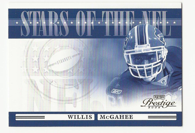 Willis McGahee 2006 Playoff Prestige Stars of the NFL Insert Card #23 Buffalo Bills
