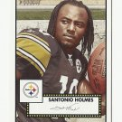 Santonio Holmes 2006 Topps Heritage Rookie Card #326 Pittsburgh Steelers/New York Jets