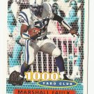 Marshall Faulk 1996 Topps 1000 Yard Club Insert Card #132 Indianapolis Colts