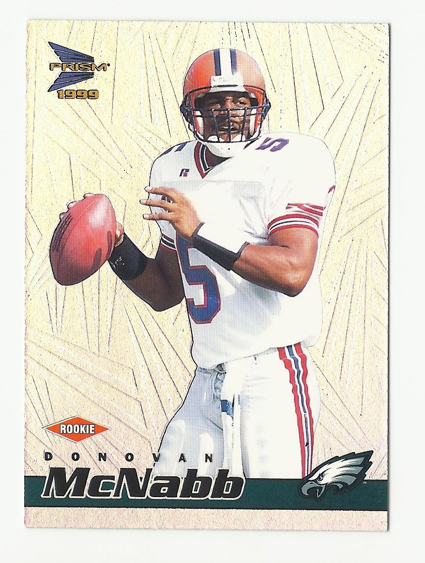 Donovan McNabb 1999 Pacific Prisms Rookie Card #108 Philadelphia Eagles