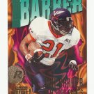 Tiki Barber 1997 Skybox Impact Rookie Card #210 New York Giants