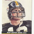 Terry Bradshaw 1990 Pro Set MVP Collectible Single Card #13 Pittsburgh Steelers