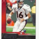 Jake plummer 2005 Upper Deck ESPN Football Single Card #30 Denver Broncos