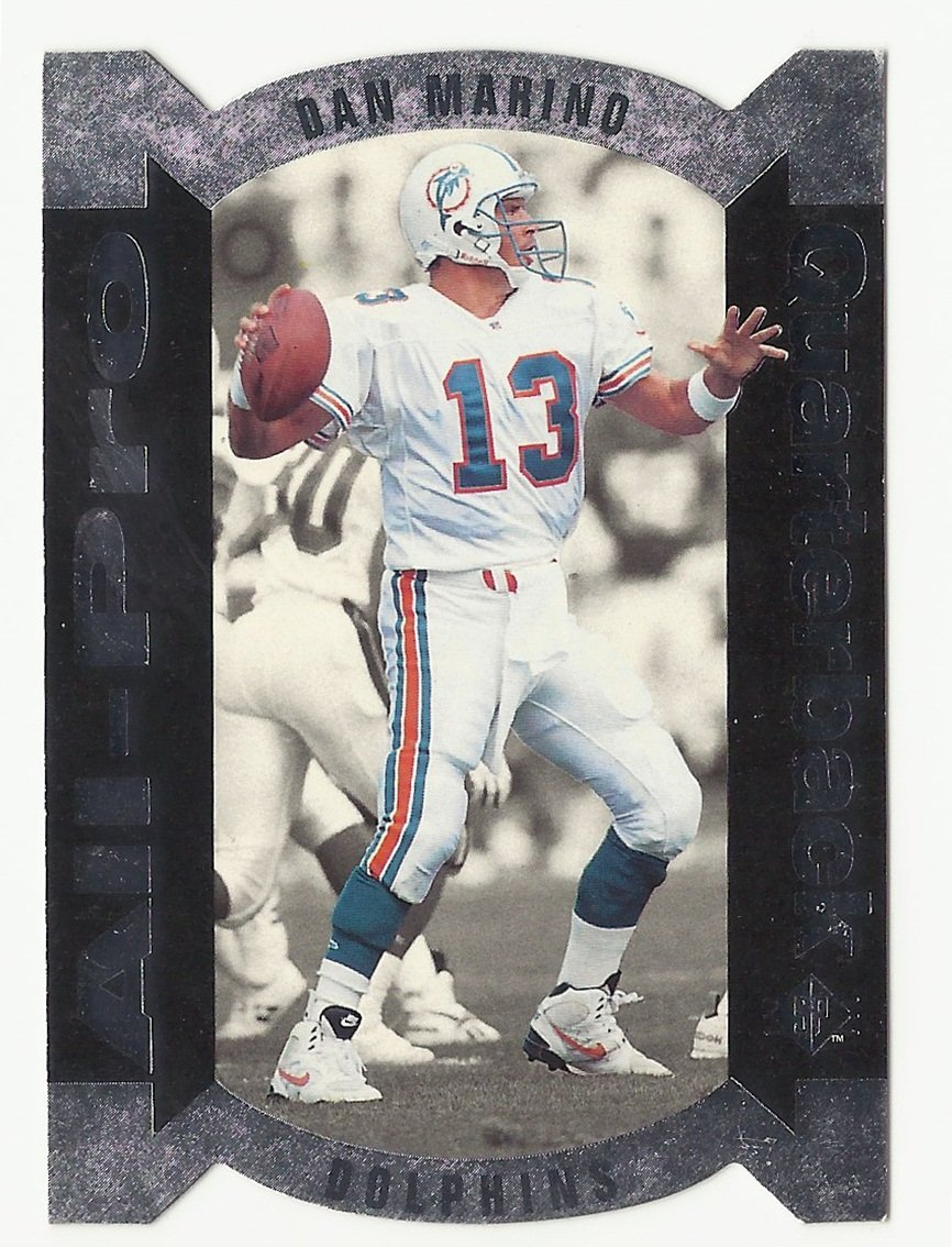 Dan Marino 1995 SP All-Pro Insert Card #AP-13 Miami Dolphins