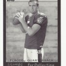 Joe Flacco 2008 Topps Mayo Cut Plug Retro Rookie Card #2 Baltimore Ravens