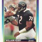 William Perry 1990 Score Single Card #509 Chicago Bears