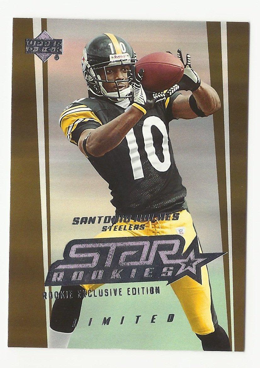 Santonio Holmes 2006 Upper Deck Limited Star Rookies Edition #220 Pittsburgh Steelers/New York Jets