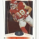 Tony Gonzalez 2004 Fleer Hot Prospects Single Card #39 Kansas City Chiefs