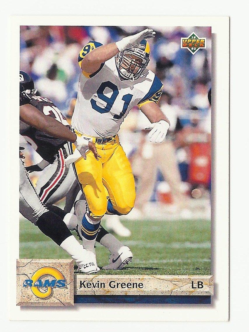 Kevin Greene 1992 Upper Deck Single Card #153 St. Louis Rams