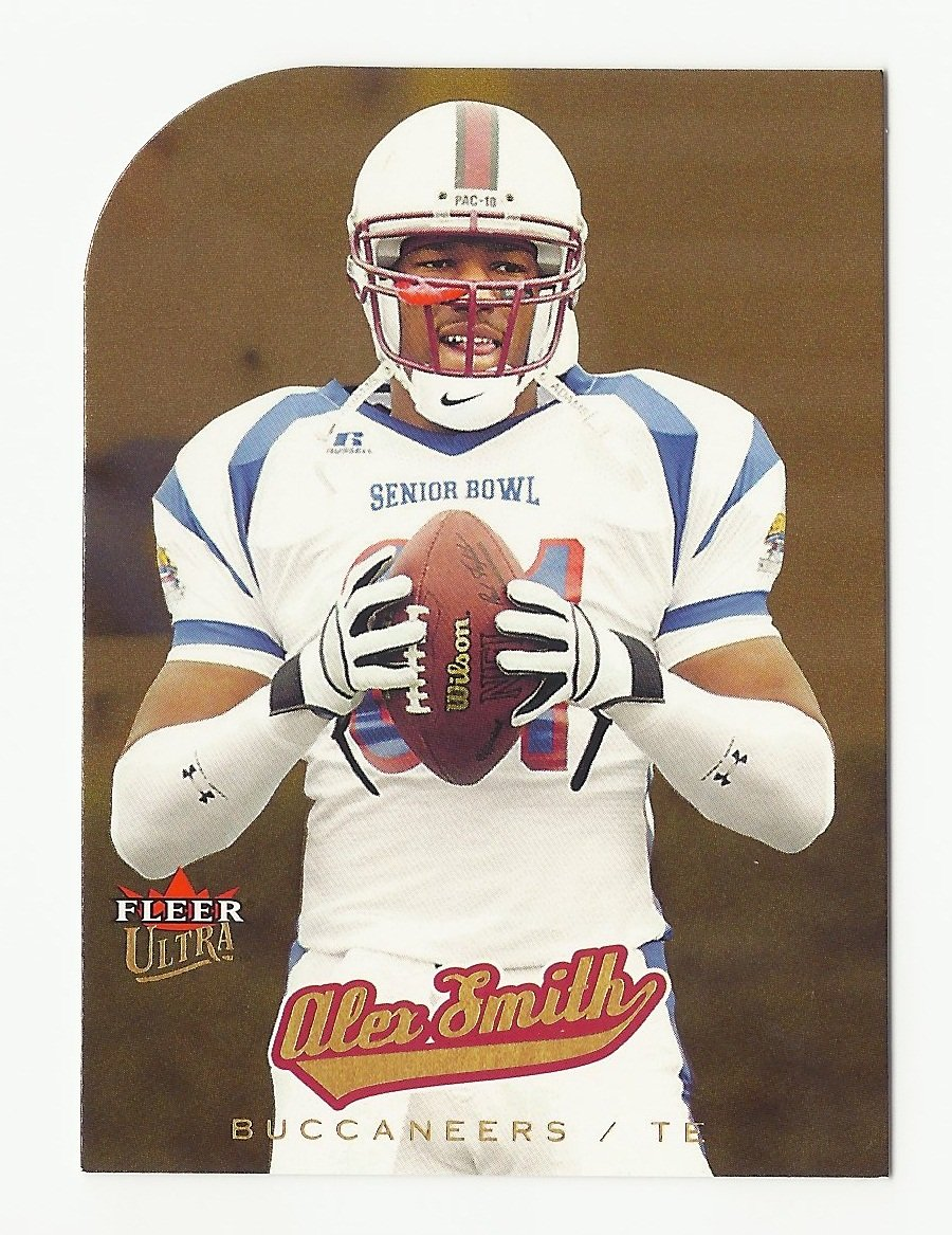 Alex Smith 2005 Ultra Gold Medallion Rookie Card #218 Tampa Bay Buccaneers